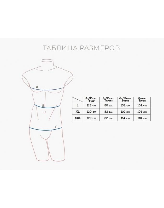 """Домашняя пижама """"Индефини"""" (Арт.822000-PBC0024)"""