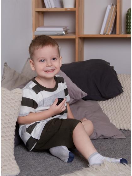 """Детская пижама для мальчиков """"Индефини"""" (Арт.981100-BTD0032)"""