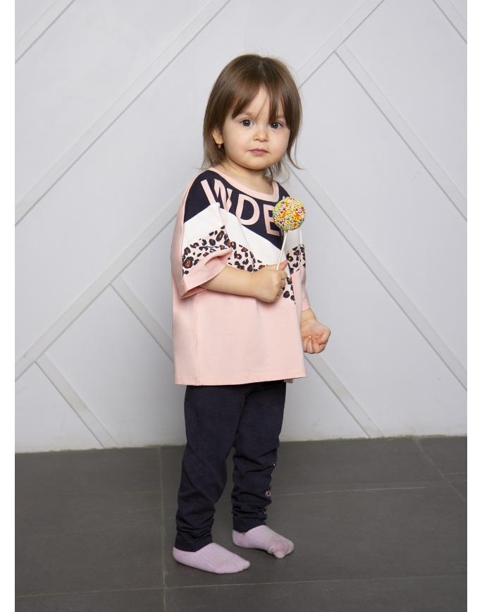 """Детская пижама для девочек """"Индефини"""" (Арт.951000-GTD0040)"""