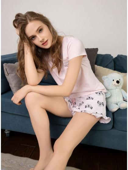 """Домашняя пижама """"Индефини"""" (Арт.532000-TBD0060)"""