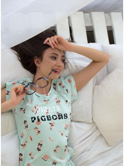 """Домашняя пижама """"Индефини"""" (Арт.534000-TBD0100)"""