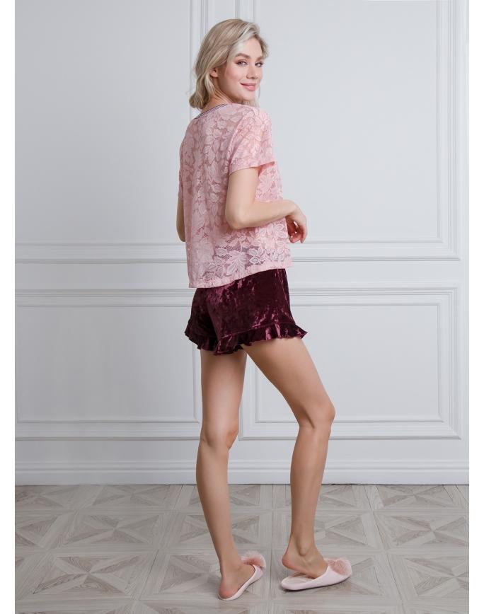 """Домашняя пижама """"Индефини"""" (Арт.537000-TBD0166)"""