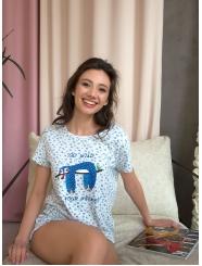 """Домашняя пижама """"Индефини"""" (Арт.534000-TBD1025)"""