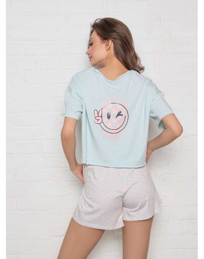 """Домашняя пижама """"Индефини"""" (Арт.534000-TBD1066)"""