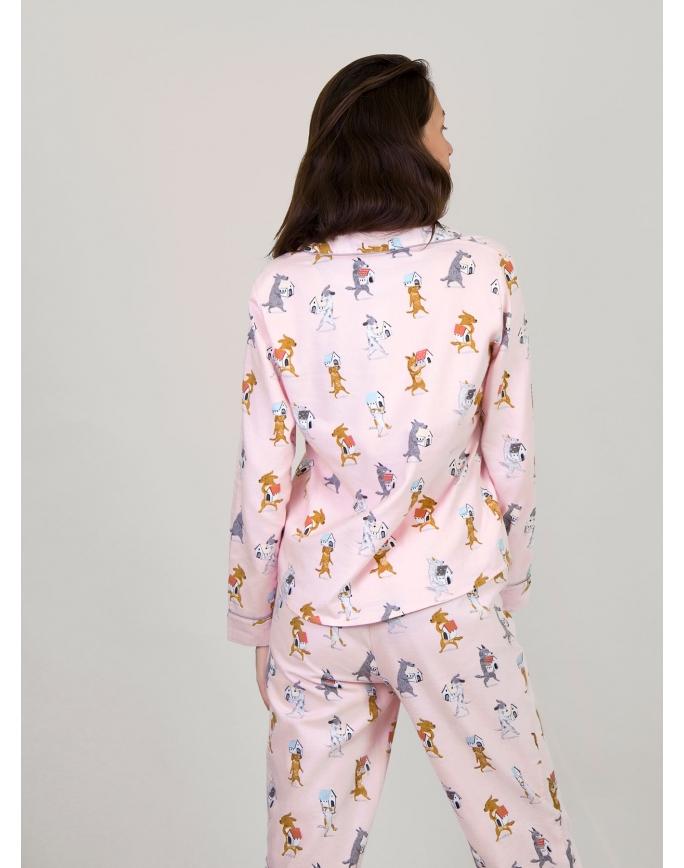 """Домашняя пижама """"Индефини"""" (Арт. 572000-9-TCC1138)"""