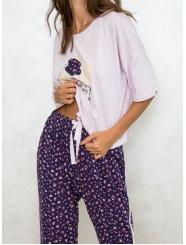 """Домашняя пижама """"Индефини"""" (Арт.554000-TBC1163)"""
