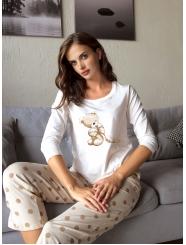 """Домашняя пижама """"Индефини"""" (Арт.564000-TQC1173)"""