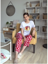 """Домашняя пижама """"Индефини"""" (Арт.534000-TBC1175)"""