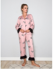 """Домашняя пижама """"Индефини"""" (Арт.571800-9-TCC1196)"""