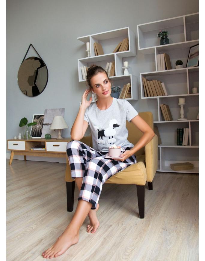 """Домашняя пижама """"Индефини"""" (Арт.551000-TBC1211)"""