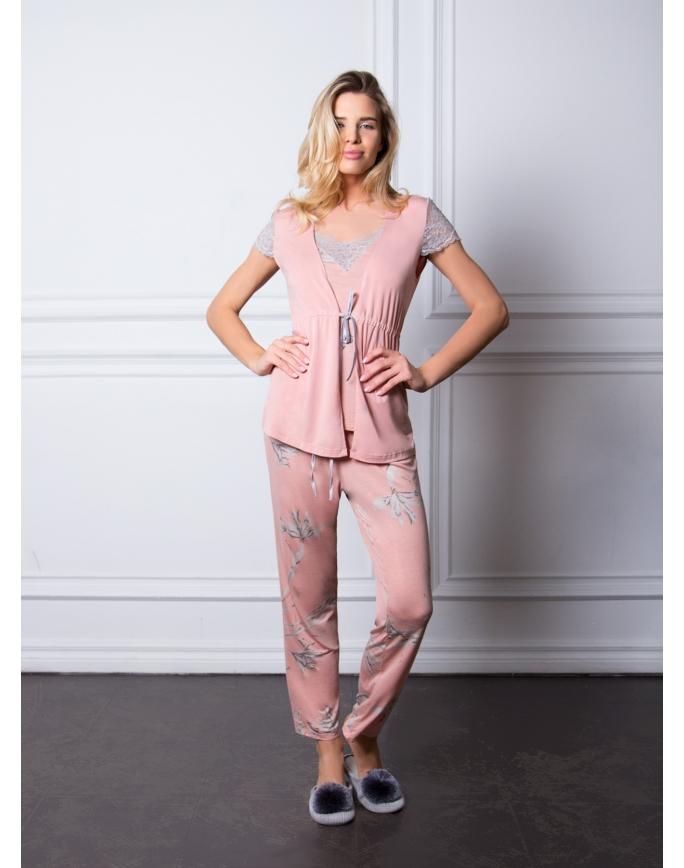 """Домашняя пижама """"Индефини"""" (Арт.585000-TSJ9232)"""