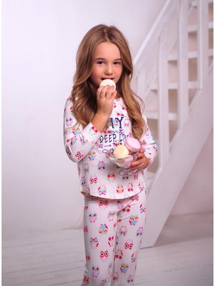 """Детская пижама для девочек """"Индефини"""" (Арт.951000-GTZ9053)"""