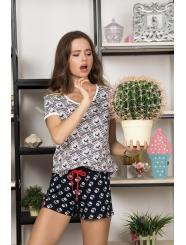 """Домашняя пижама """"Индефини"""" (Арт.532000-TBD8193)"""