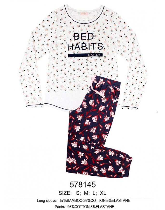 "Домашняя пижама ""Bed habits"" (Арт.573000-578145)"