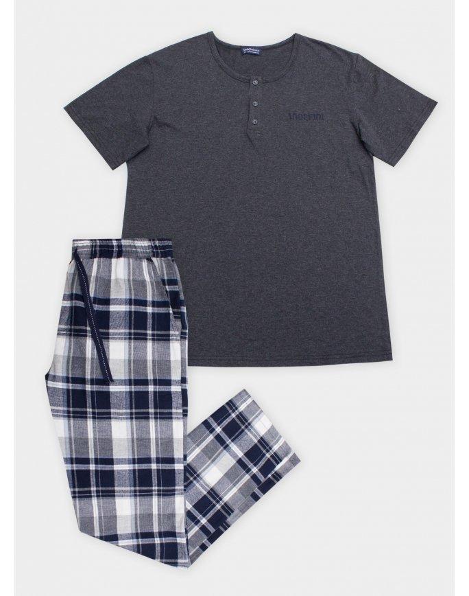 """Домашняя пижама """"Индефини"""" (Арт.822000-PBC9003)"""