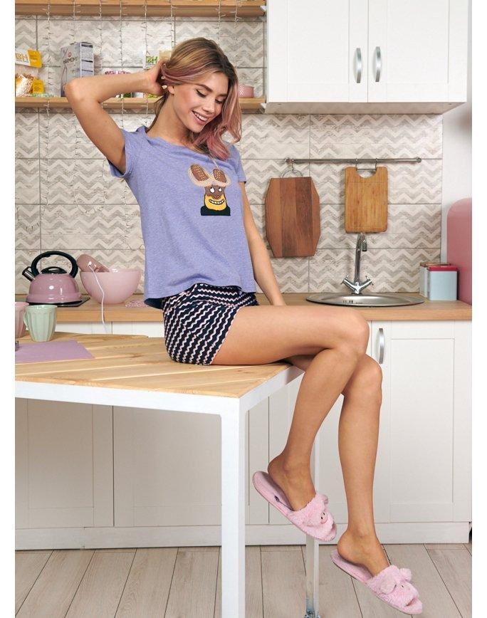 """Домашняя пижама """"Индефини"""" (Арт.532000-TBD9037)"""