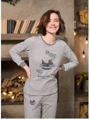 """Домашняя пижама """"Индефини"""" (Арт. 572000-TCC9197)"""