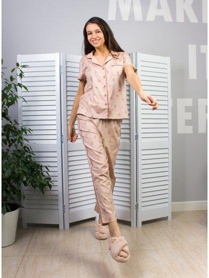 """Домашняя пижама """"Индефини"""" (Арт.552000-TBС9256)"""